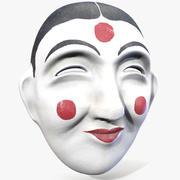 Maschera tradizionale coreana 3d model
