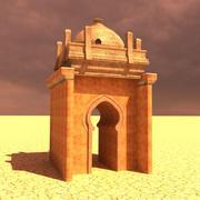 Puerta del desierto modelo 3d