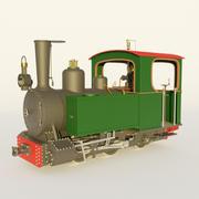 Locomotiva a vapore 3d model