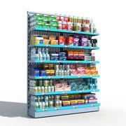 Półka apteki 3d model