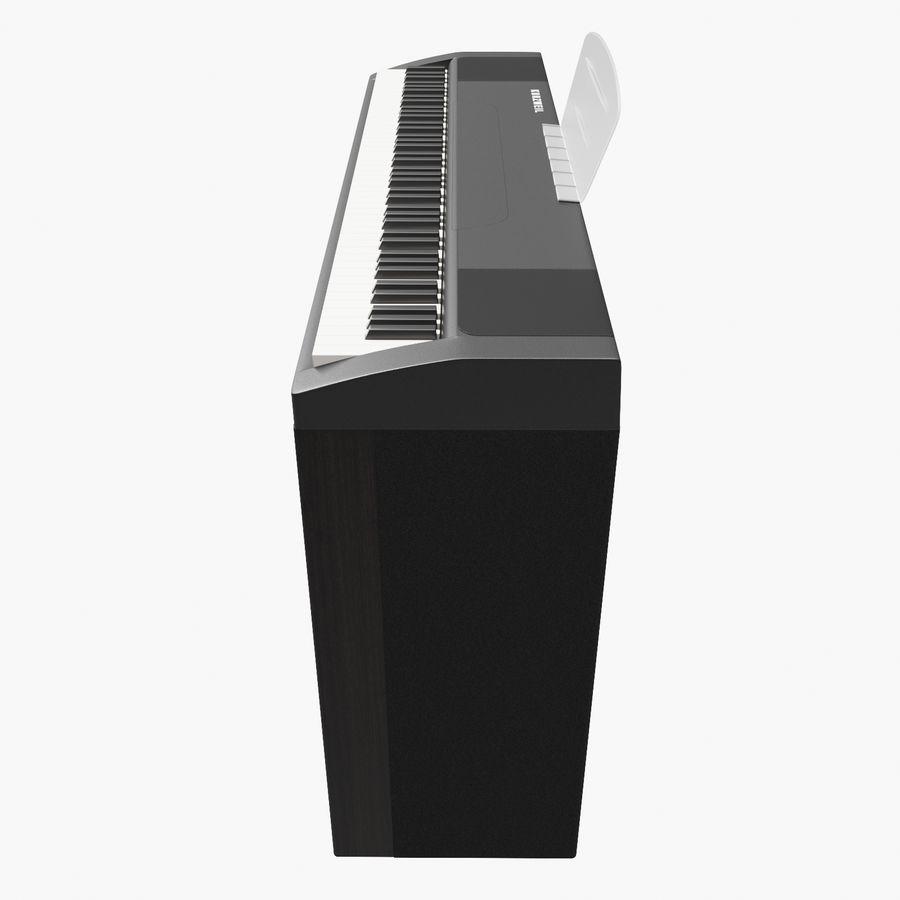 Klavier royalty-free 3d model - Preview no. 4