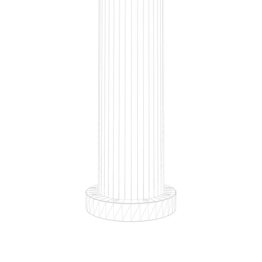vertikaler Windgenerator royalty-free 3d model - Preview no. 7