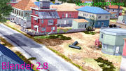 Pubg Pochinki: carte 3d model