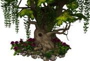 tree flora 3D model 3d model