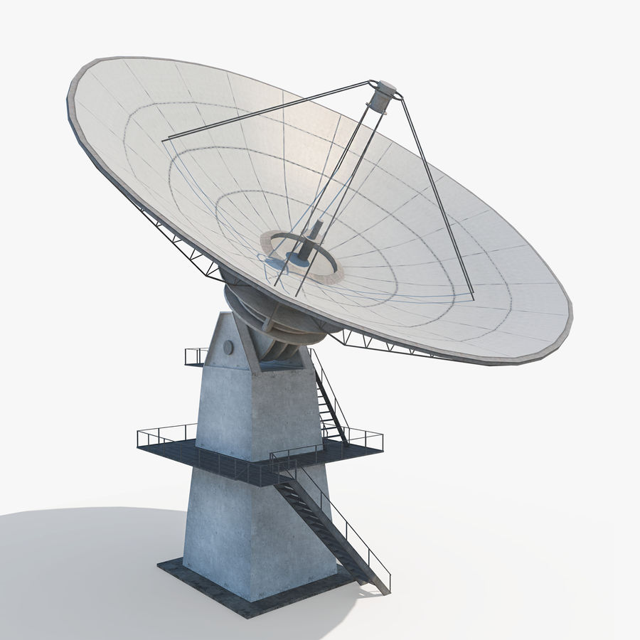 Antena satelitarna - antena royalty-free 3d model - Preview no. 2