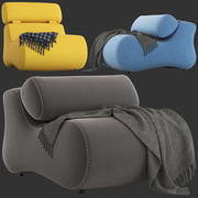 Linea Furniture Romania 의자 3d model