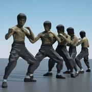 Bruce Lee 3d model