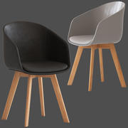 Cult Furniture Cohen Chair 3d model