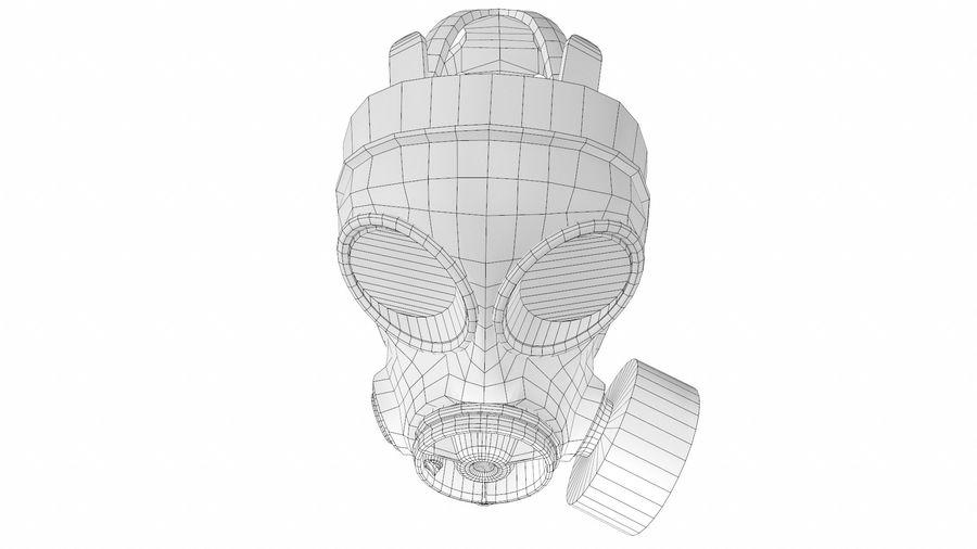 Maschera antigas royalty-free 3d model - Preview no. 10