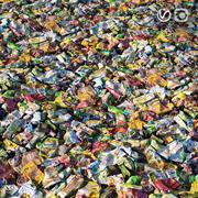 Garbage material 3d model