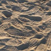 Matériel de plage de sable 3d model