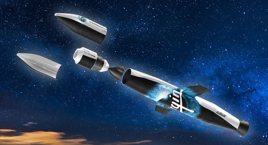 Space Rockets Collection royalty-free 3d model - Preview no. 51