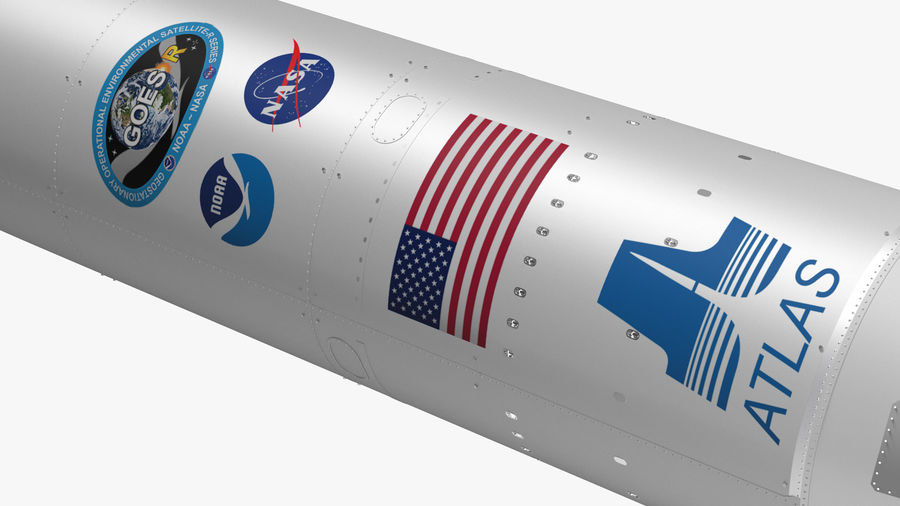 Space Rockets Collection royalty-free 3d model - Preview no. 20