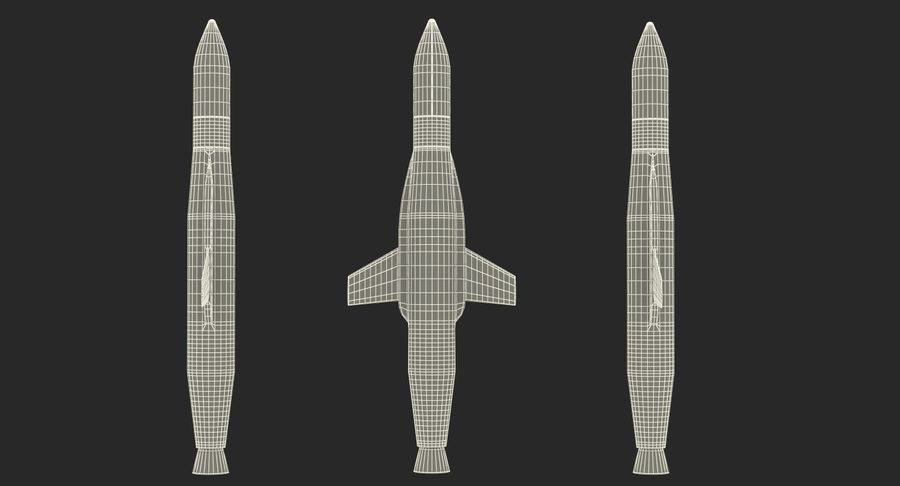 Space Rockets Collection royalty-free 3d model - Preview no. 65