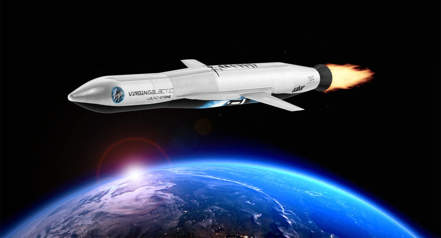 Space Rockets Collection royalty-free 3d model - Preview no. 52