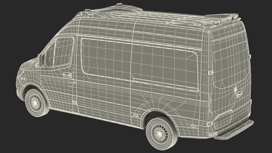 Emergency Ambulance Generic royalty-free 3d model - Preview no. 30
