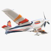 Zivko Edge 540 Пилотажный самолет оснащенный 3d model