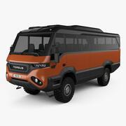 2018年Torsus Praetorianバス 3d model
