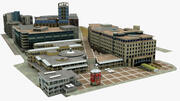 Cape Town Block 3d model