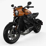 Harley-Davidson LiveWire 2019 년 3d model