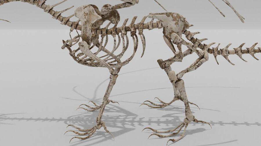 Bone Dragon royalty-free 3d model - Preview no. 7
