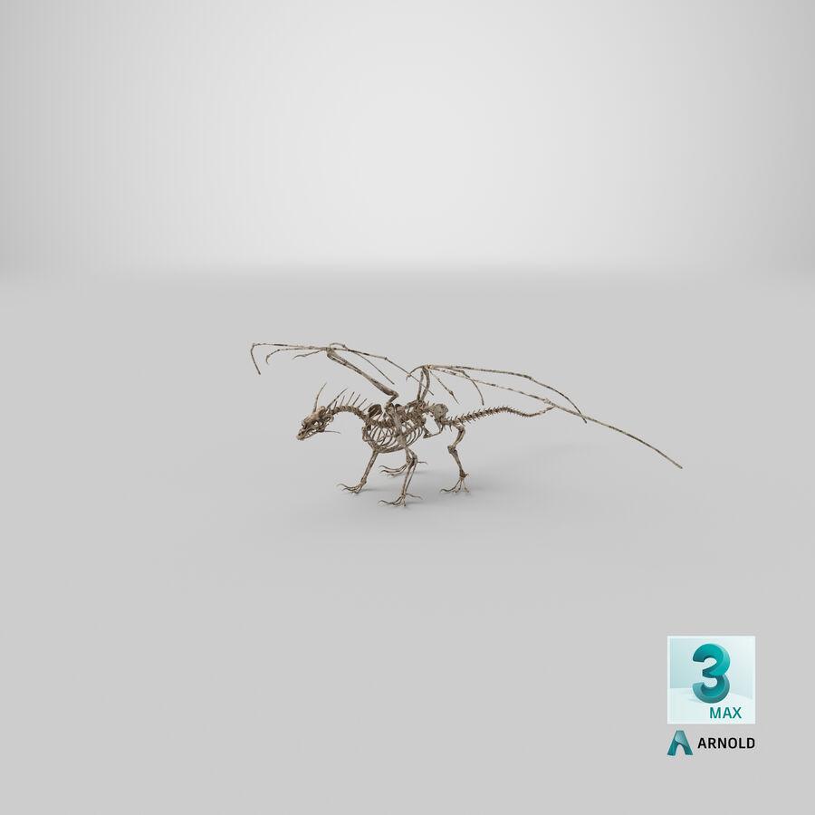 Bone Dragon royalty-free 3d model - Preview no. 32