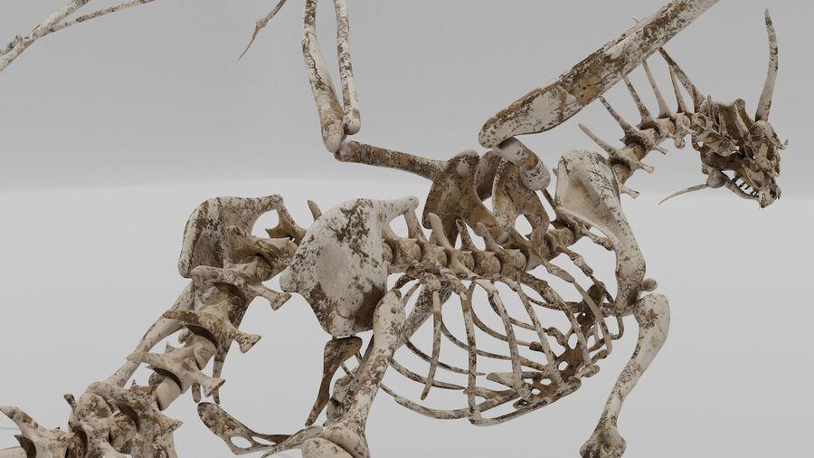 Bone Dragon royalty-free 3d model - Preview no. 11