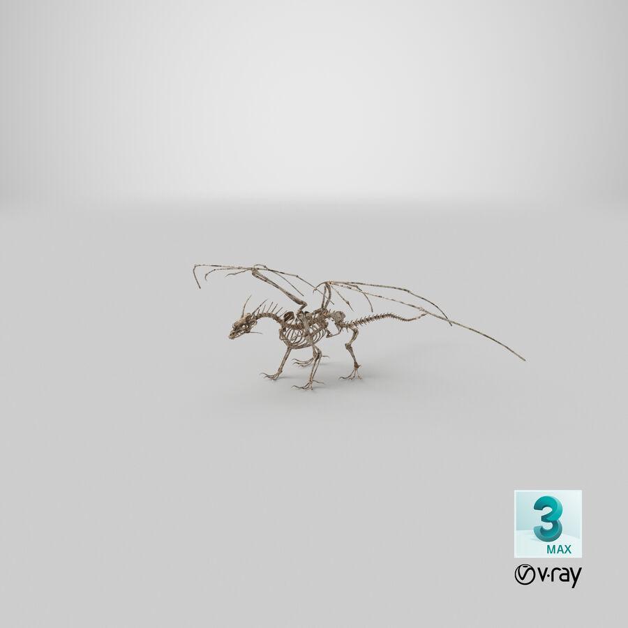 Bone Dragon royalty-free 3d model - Preview no. 34