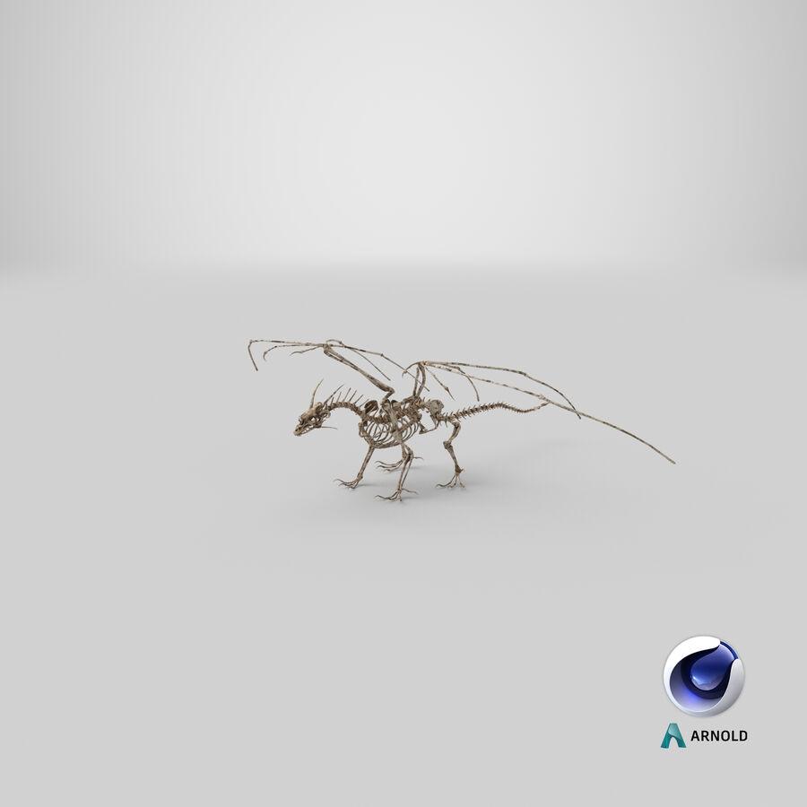 Bone Dragon royalty-free 3d model - Preview no. 29