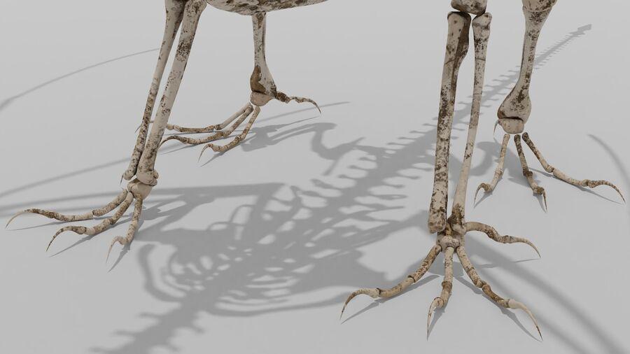 Bone Dragon royalty-free 3d model - Preview no. 8