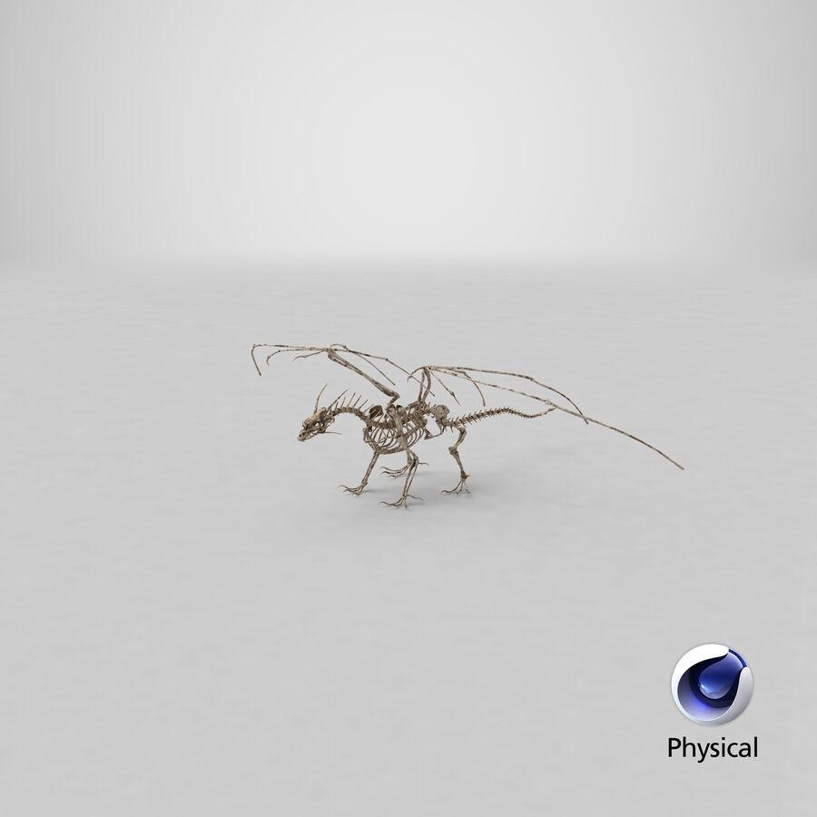 Bone Dragon royalty-free 3d model - Preview no. 28