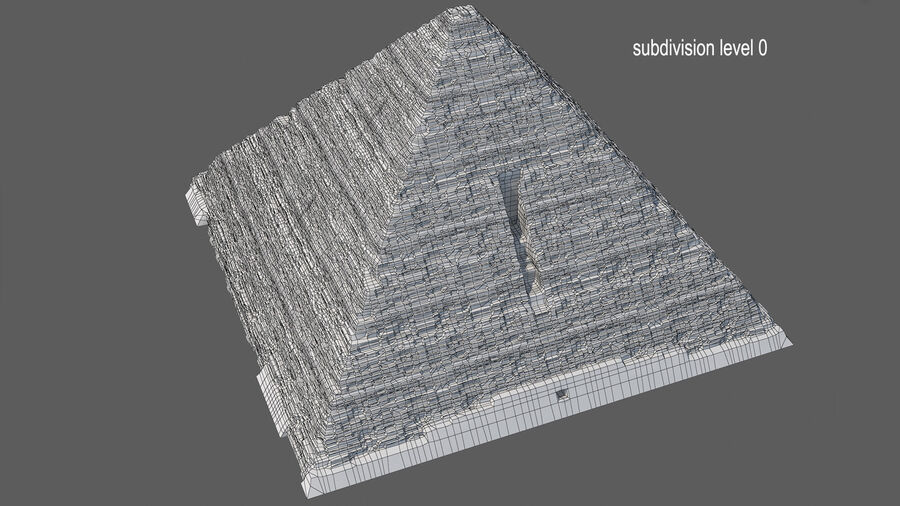 Menkaure-pyramiden royalty-free 3d model - Preview no. 14
