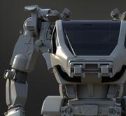 Avatar AMPsuit Mecha 3d model