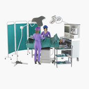 Chirurgie Place Pro 3d model
