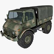 Caminhão do Exército Unimog 3d model