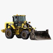 JCB 426ZX excavator 2019(1) 3d model