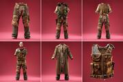 6ホラー軍の衣装 3d model