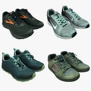 Kolekcja butów 07 3d model