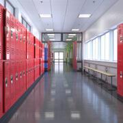 Skolhallen 3d model