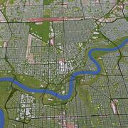 Edmonton City 3d model