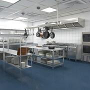 Commercial Kitchen 3d model