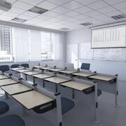 Classroom 1 modello 3D 3d model