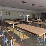 Modello 3D di Classroom 2 3d model