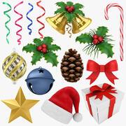 Collection de Noël 3d model