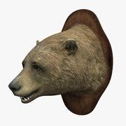 Ours de tête 3d model