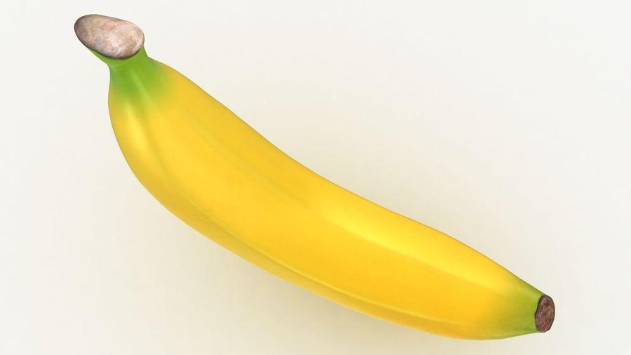 Plátano royalty-free modelo 3d - Preview no. 10