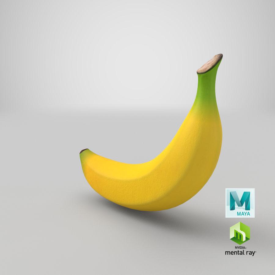 Plátano royalty-free modelo 3d - Preview no. 32