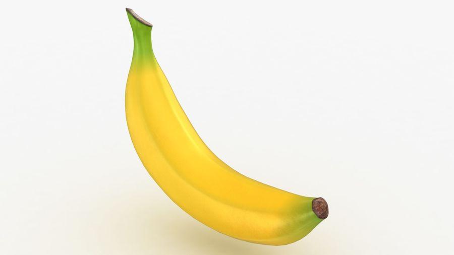 Plátano royalty-free modelo 3d - Preview no. 4
