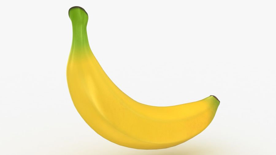 Plátano royalty-free modelo 3d - Preview no. 13