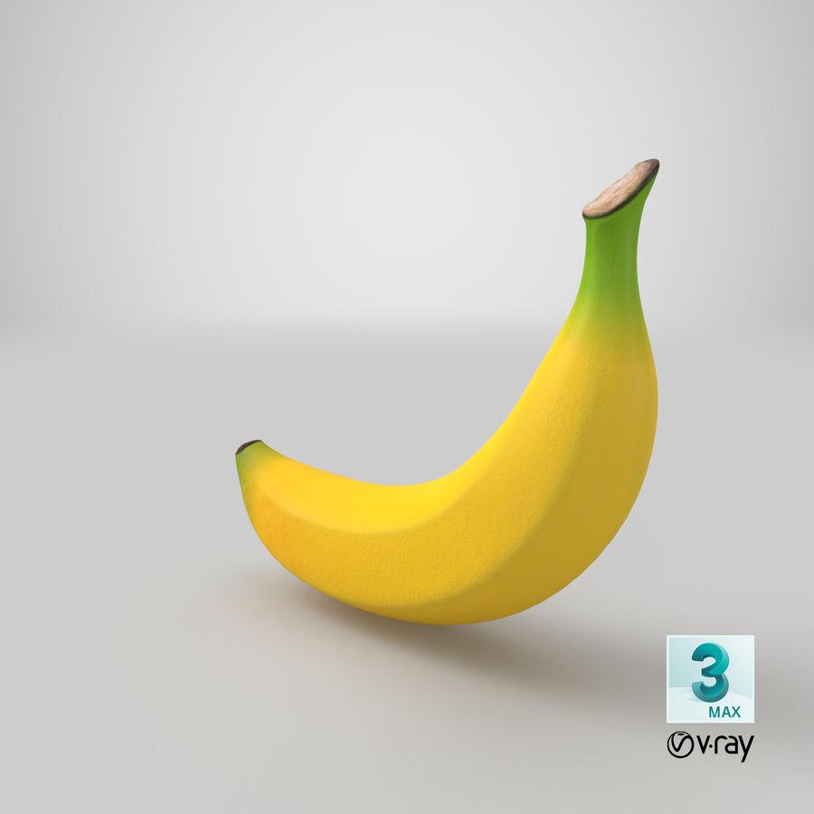 Plátano royalty-free modelo 3d - Preview no. 30